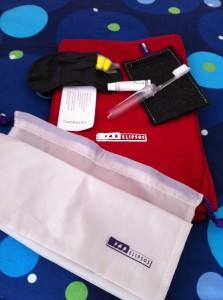 Il kit da viaggio di TrenHotel