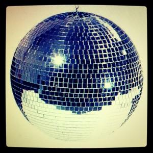 La palla stroboscopica del tweetdisco
