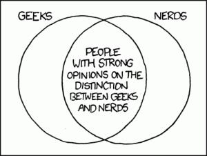 differenza tra geek e nerd