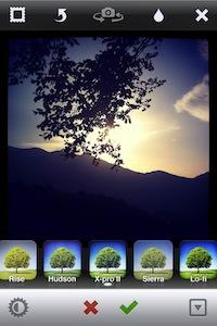 Applicazione effetto X Pro Instagram