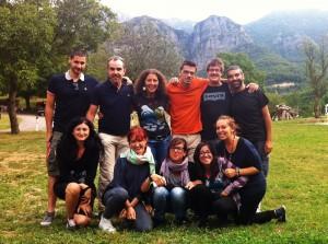 Il social media team del blog tour A Seminar la Buona Pianta