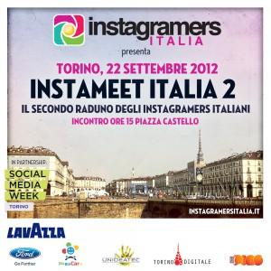 Torino 22 settembre instameet instagram