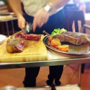 bistecca fiorentina in occasione di BMaxSocialDrive