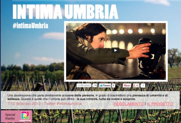 Intima Umbria: Scoprire l'Umbria grazie a Instagram