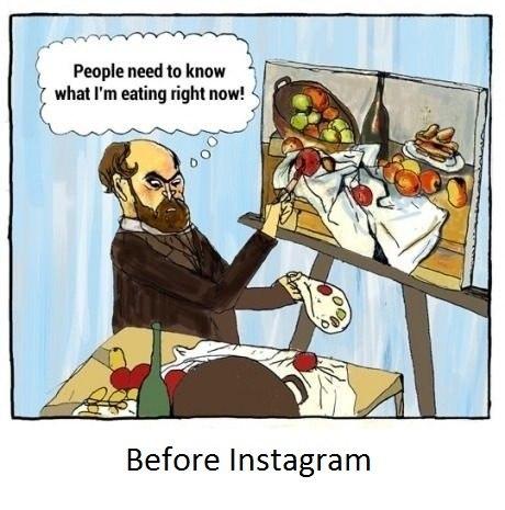 prima di instagram