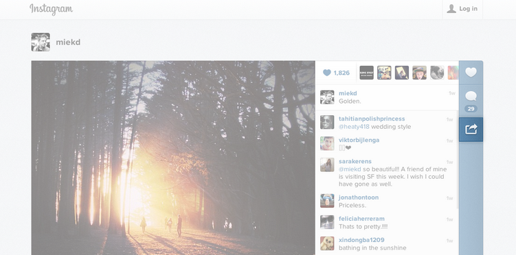 Instagram rilascia il codice embed per inserire le foto su un sito