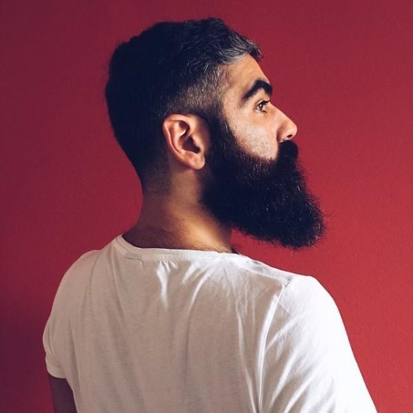 Barba e barbuti su Instagram