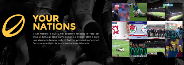 YourNations: il rugby diventa ancora più social grazie a Twitter e Instagram